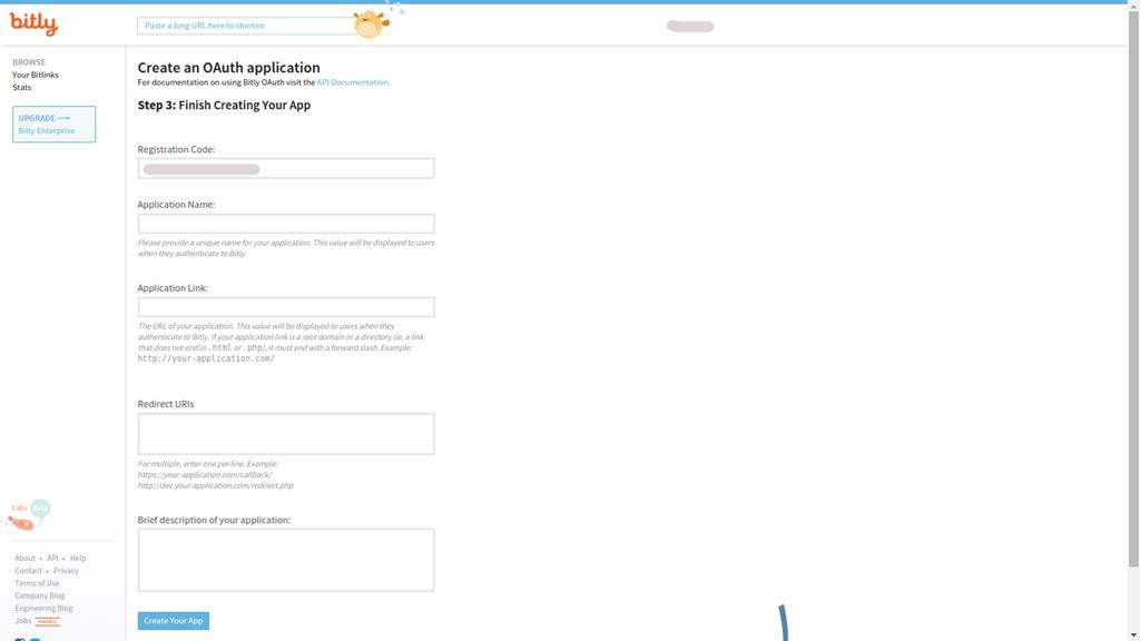 Generate Bit ly Short URLs Using PHP - API Version 3 | Web Haunt